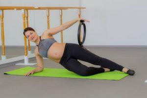 Barre Fitness în sarcină